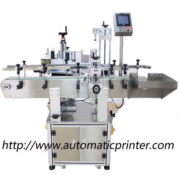 automatic posistion round bottle labeling machine