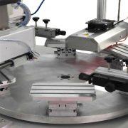 two color conveyor screen printer of part 2