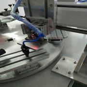 two color conveyor screen printer of part 4