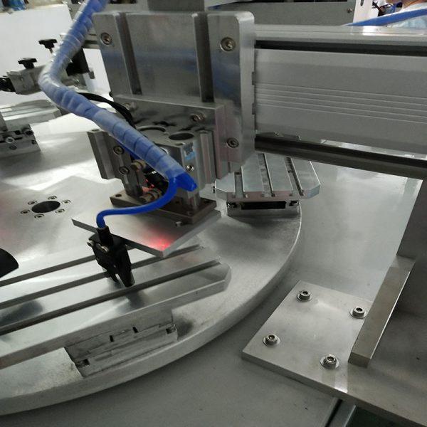 two color conveyor screen printer of part 5