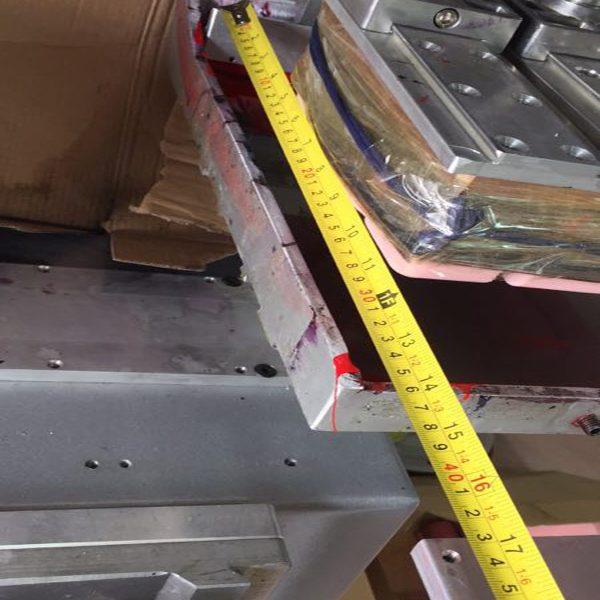 super big two colors dishes pad printing machine 1