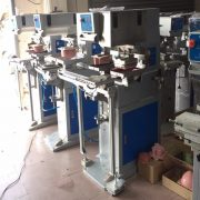 super big two colors dishes pad printing machine 2