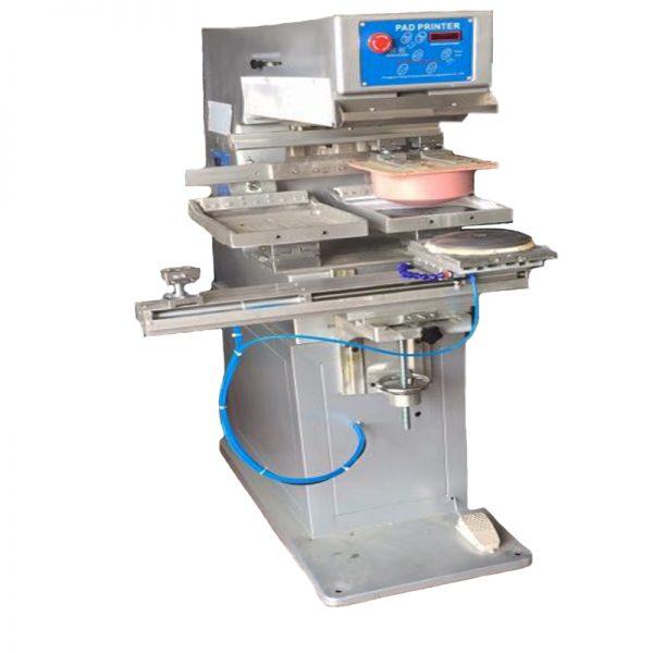 super big two colors dishes pad printing machine 4