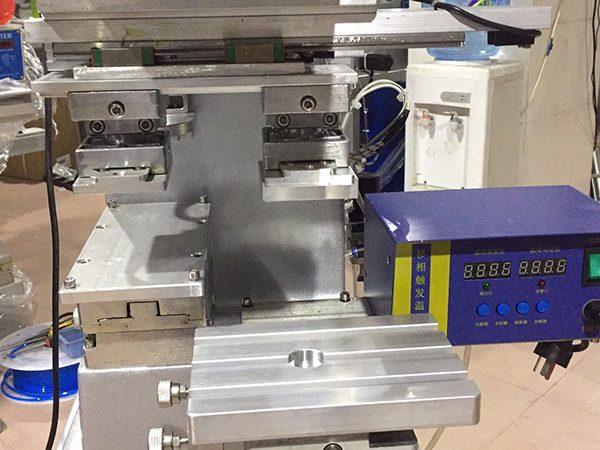 1 color hot stamping &pad printing machine 1