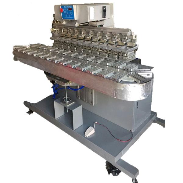 10 color pad printing machine