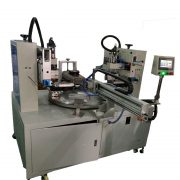 two color converyor screen pritner machine1