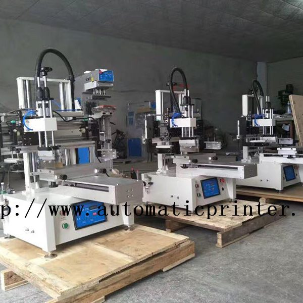 2030 slide table small screen printing machine 1