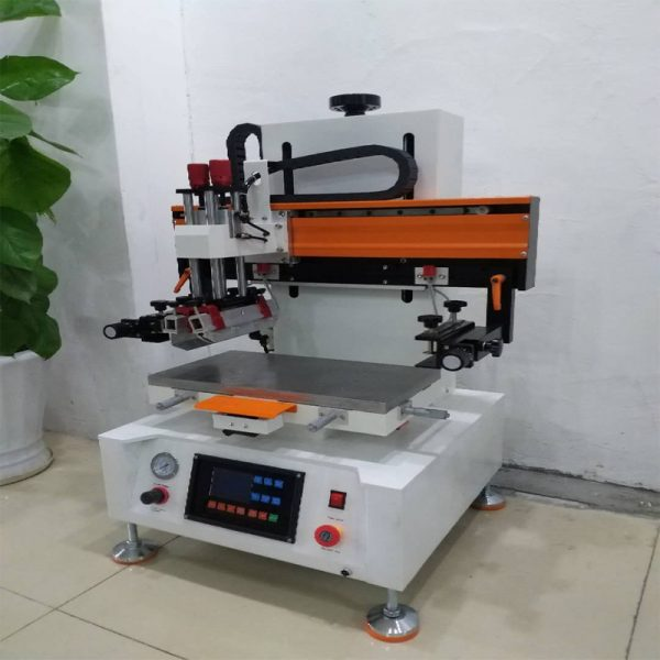 electronic flat bed screen printing machine 1