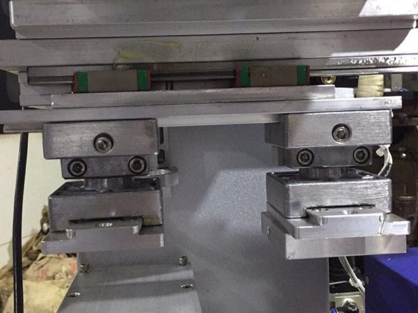 1 colro hot stamping &pad printing machine 3